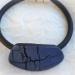 Bracelet craquelé bleu et noir